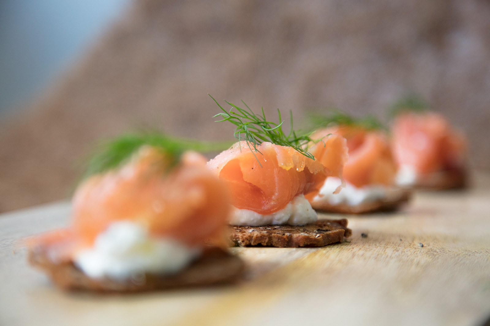 Salmon & Dill Crackers